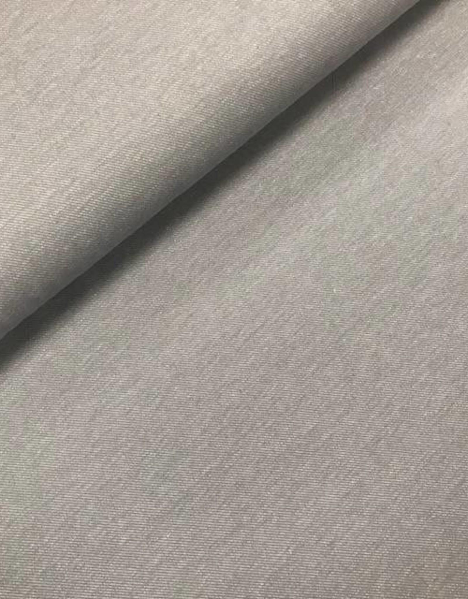 Tricot katoen jeans grijs