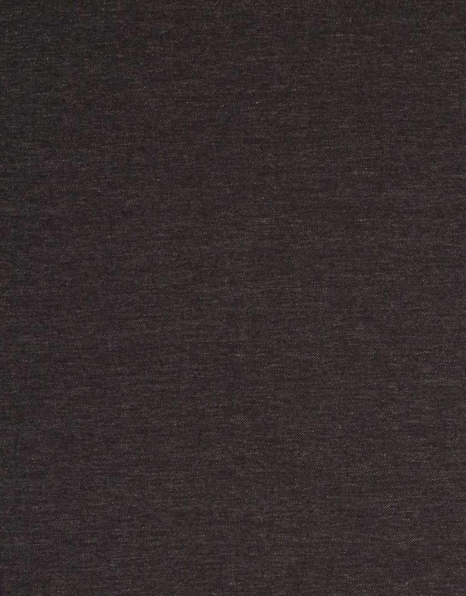 Tricot katoen jeans zwart