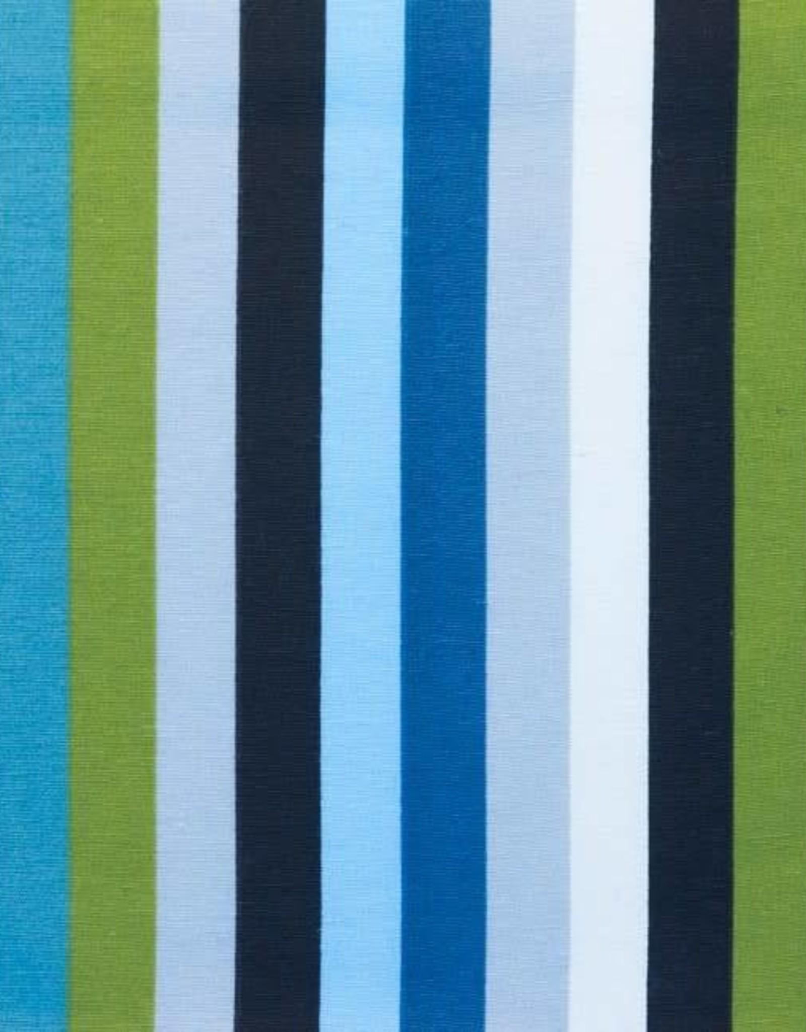 *Printed Canvas Breton Stripe