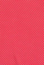 *Viscose small dots red