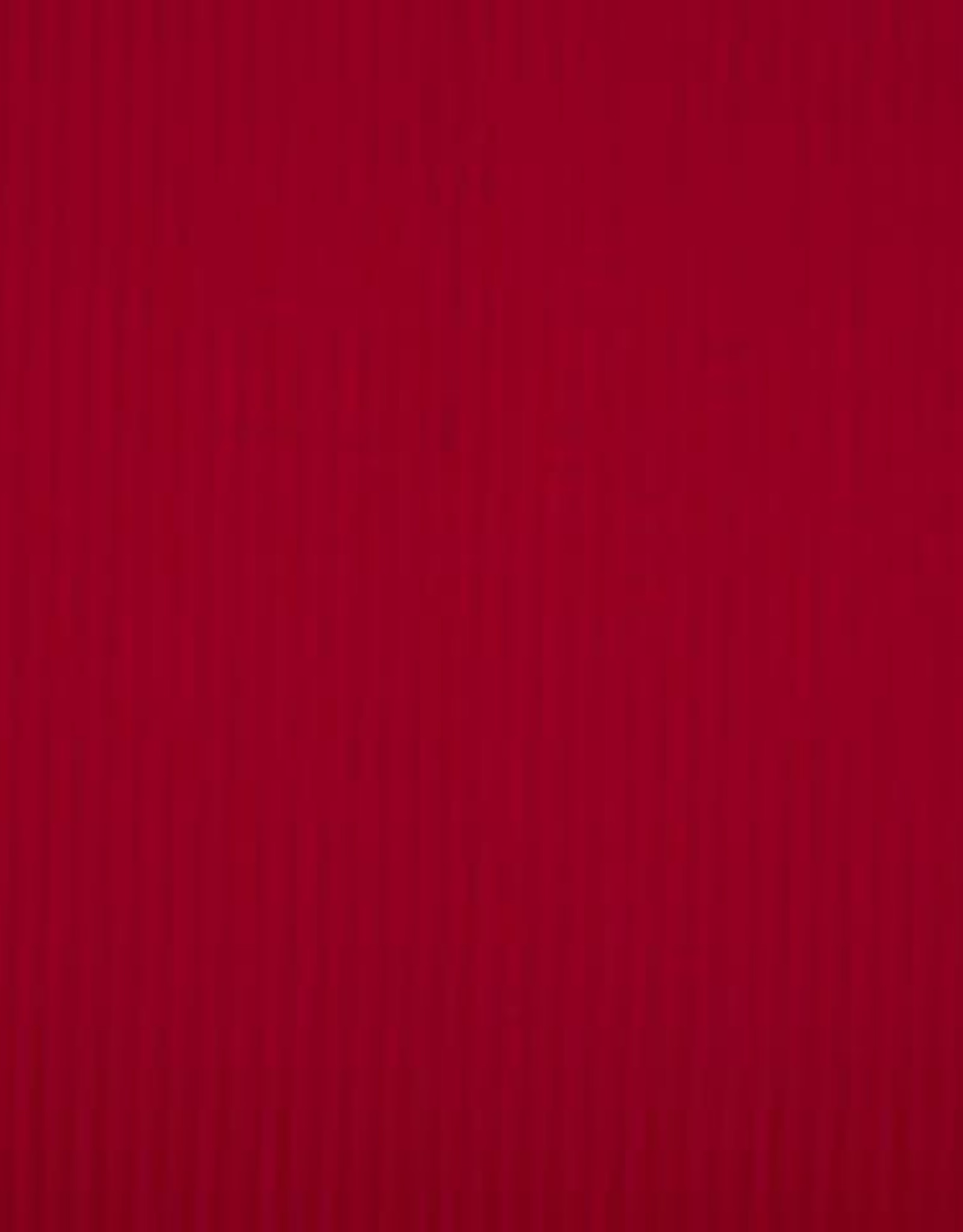Tricot Viscose polyester rib red