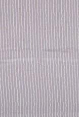 Borken Crepe Yoryu print stripe grey