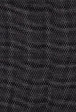 Polyester viscose knitted black