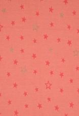 Swafing Jacquard tricot mateo stars roze glitter