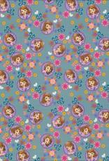 Swafing *Tricot Disney Sofia blauw