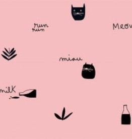 Katia Tricot katoen pink milk meow