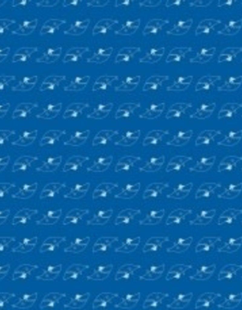 Katia Tricot katoen blue little shark