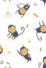 Katia Poplin jumping monkeys
