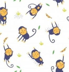 Katia Poplin jumping monkeys