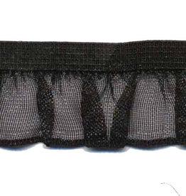 Roezel elastiek zwart 19 mm