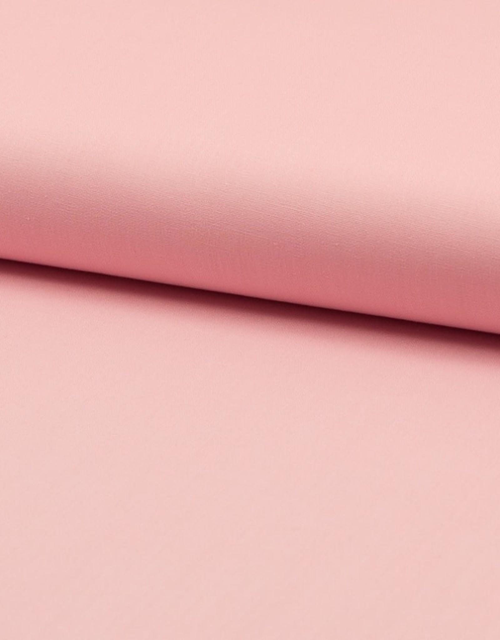 Poplin katoen uni roze