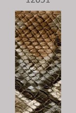 Oaki Doki Galloon trim 30mm 2*125cm snake brown 12049