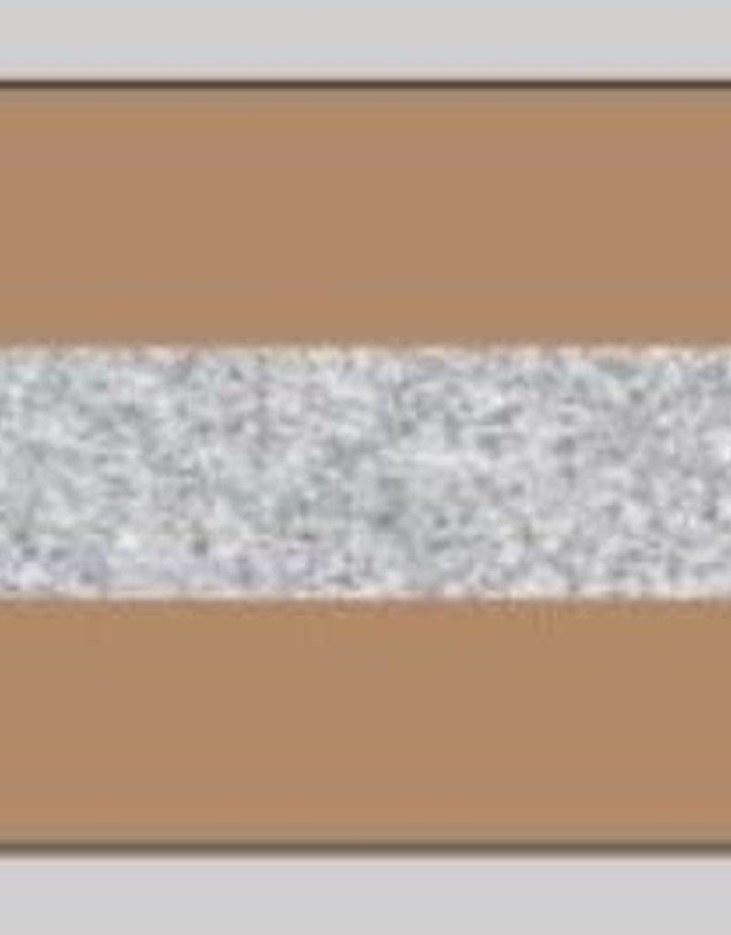 Oaki Doki Galloon trim 30mm 2*125cm stone silv 12023