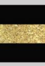 Oaki Doki Galloon trim 30mm 2*125cm zw gold Bstripe 12036