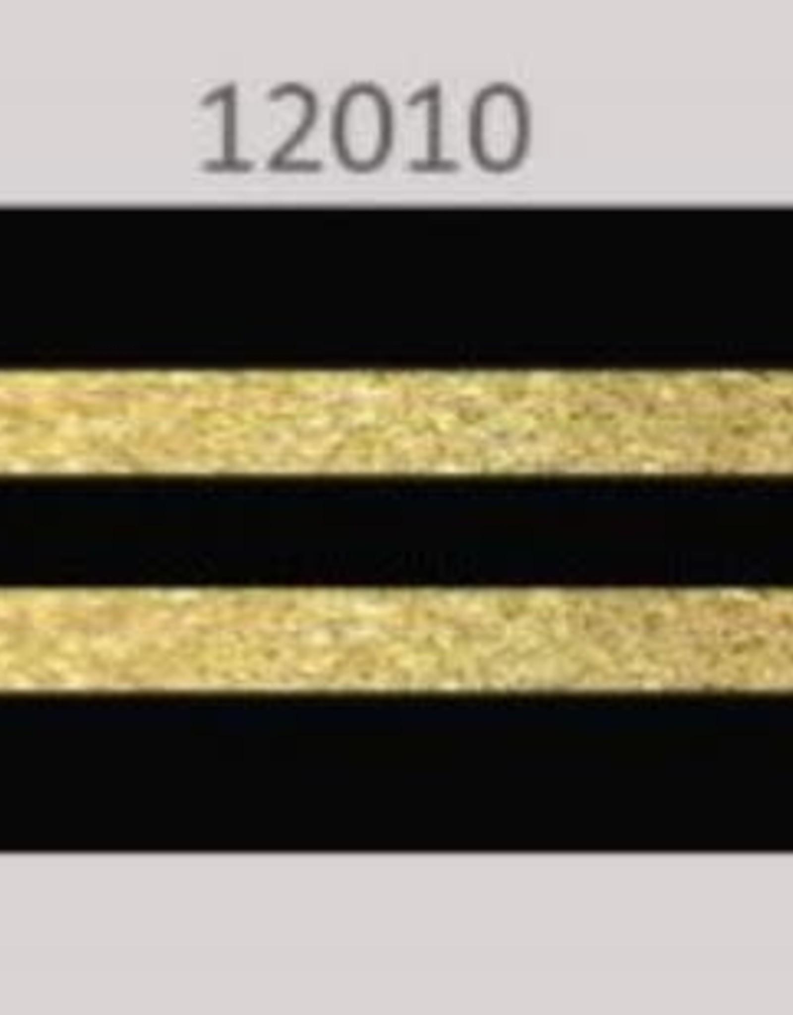 Oaki Doki Galloon trim 30mm 2*125cm zw gold stripe 12010