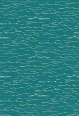 Hoffman Katoen waves teal/metallic