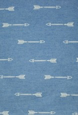 Jeans arrows light blue