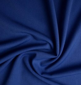 *Stretch gabardine cobalt