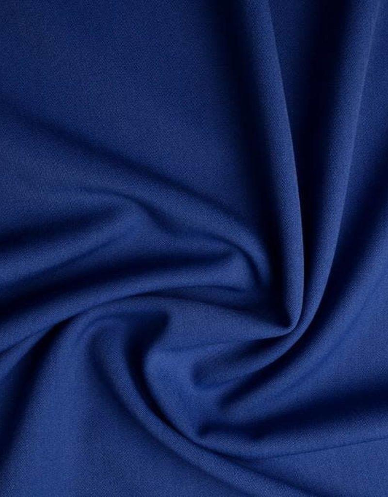 Stretch gabardine cobalt