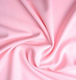 Stretch gabardine licht roze
