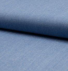 Jeans katoen washed light blue 6oz