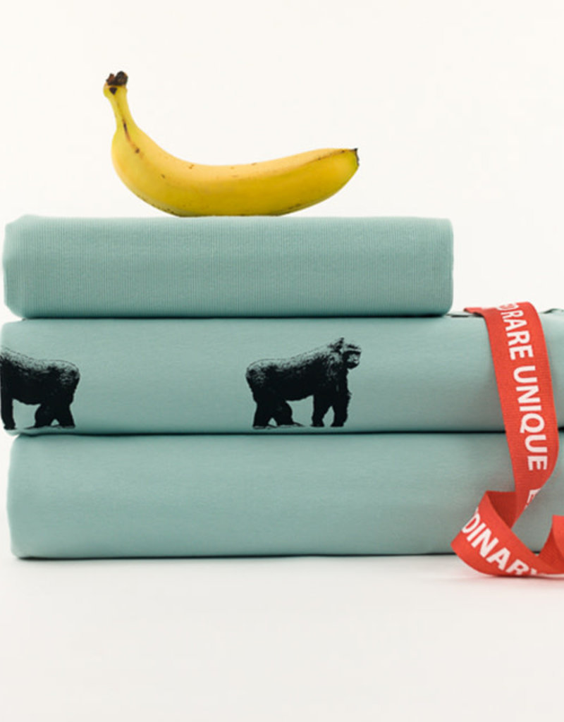 See You at Six Gorillas - M - French Terry - Grijs Mistblauw - R