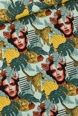 See You at Six Habana - L - Katoen Canvas Gabardine Twill - Skylight Blauw - R