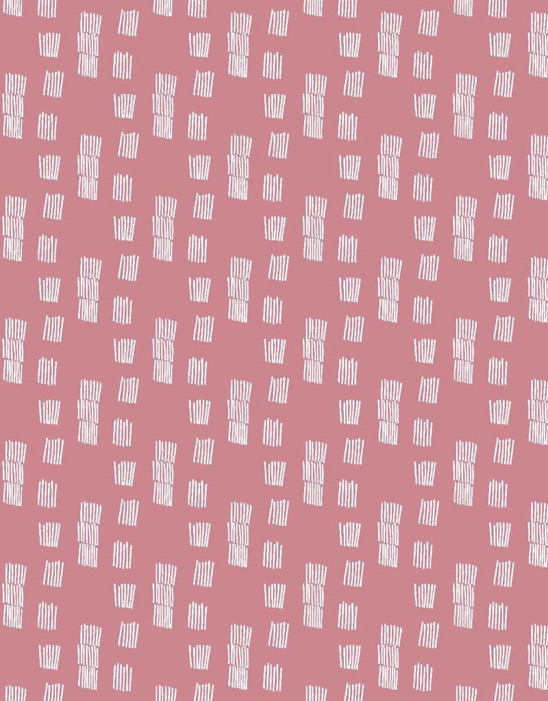 Poppy Soft sweat funky stripes roze