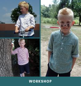 "Workshop ""Morris-hemd""  Za 21/3/2020"