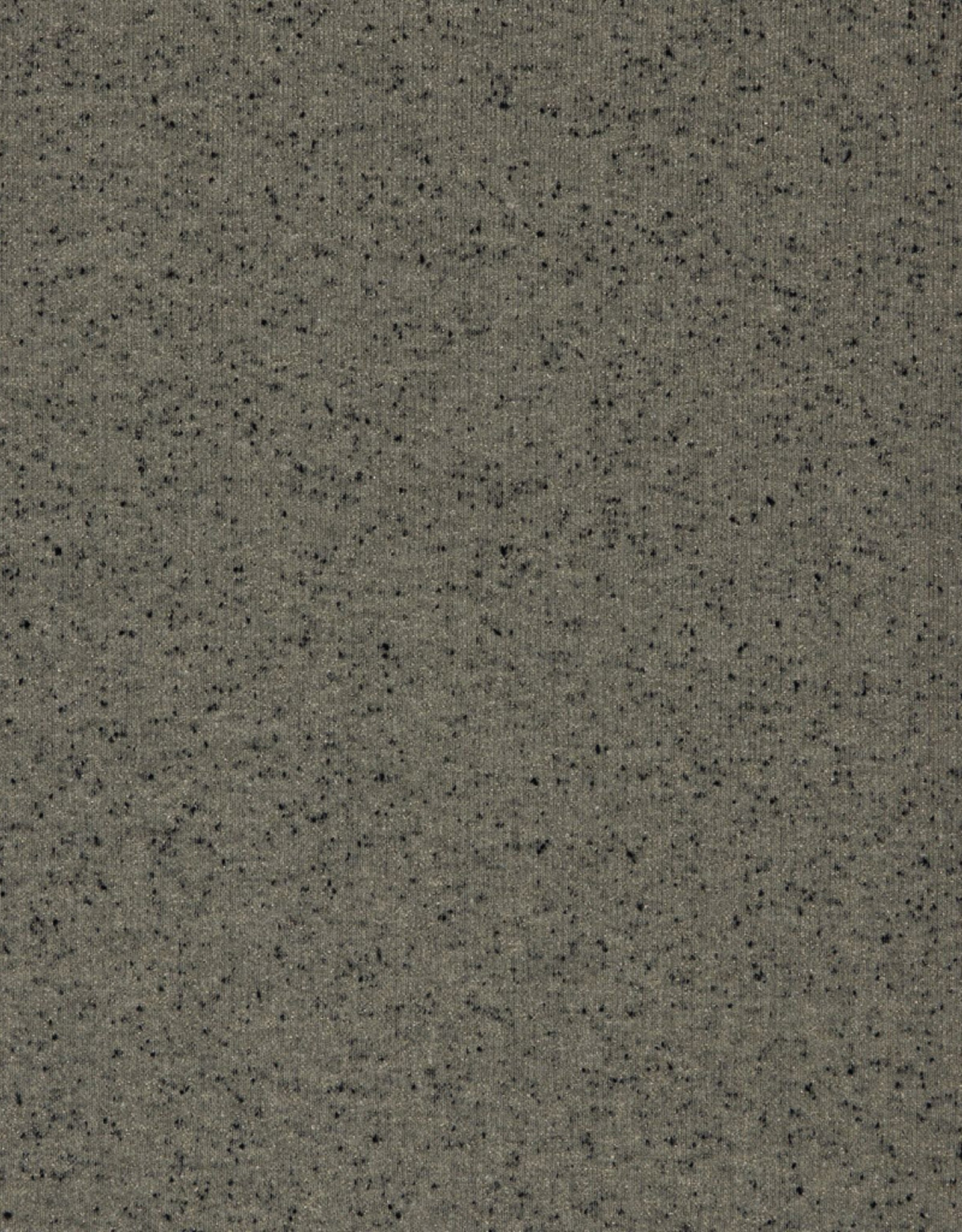 Poppy Sweat glitter dots grijs-zwart