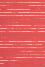 Swafing Tricot katoen crayon by Lila-Lotta rood