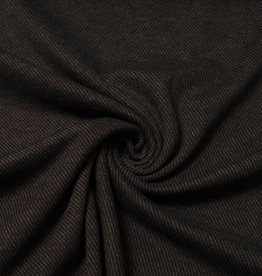 Swafing Jersey Jacquard knitted zwart