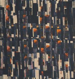 Swafing Tricot katoen Suri abstract blauw