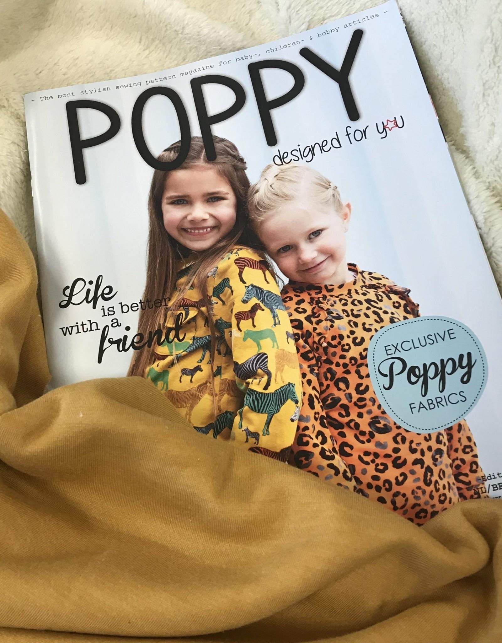 Poppy Fur teddy oker