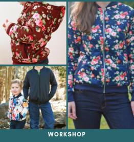 """Workshop """"Bomber kinder en dames""""  Za 30/11/2019"""