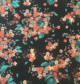 Fibre Mood COUPON Polyester Bloemen 110*140cm