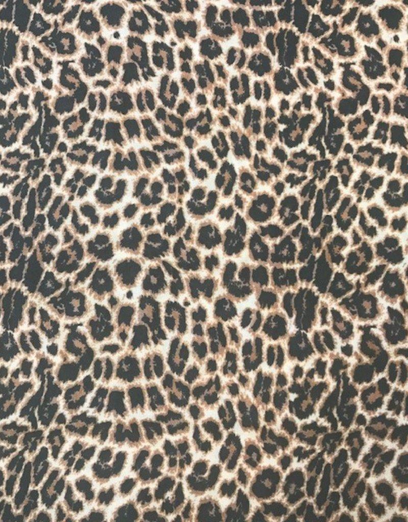 Fibre Mood Viscose leopard bruin
