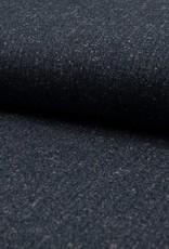 Trendy tweed blauw