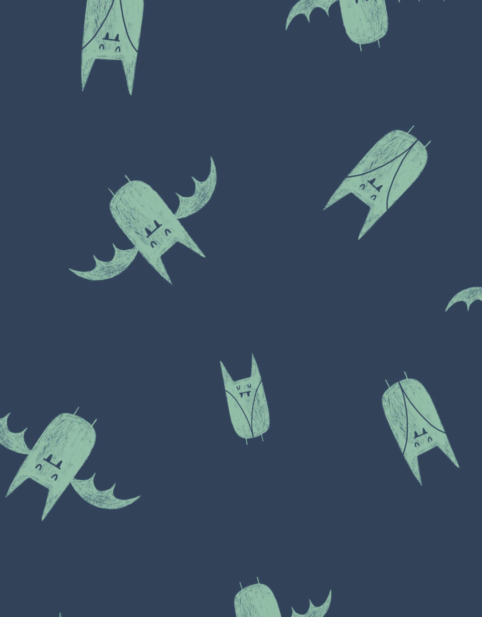 Katia *Sweat monsters blauw groen