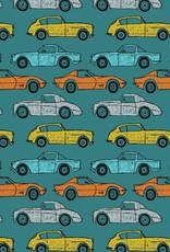 Soft sweat cars blue