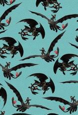 Tricot katoen dragon fly