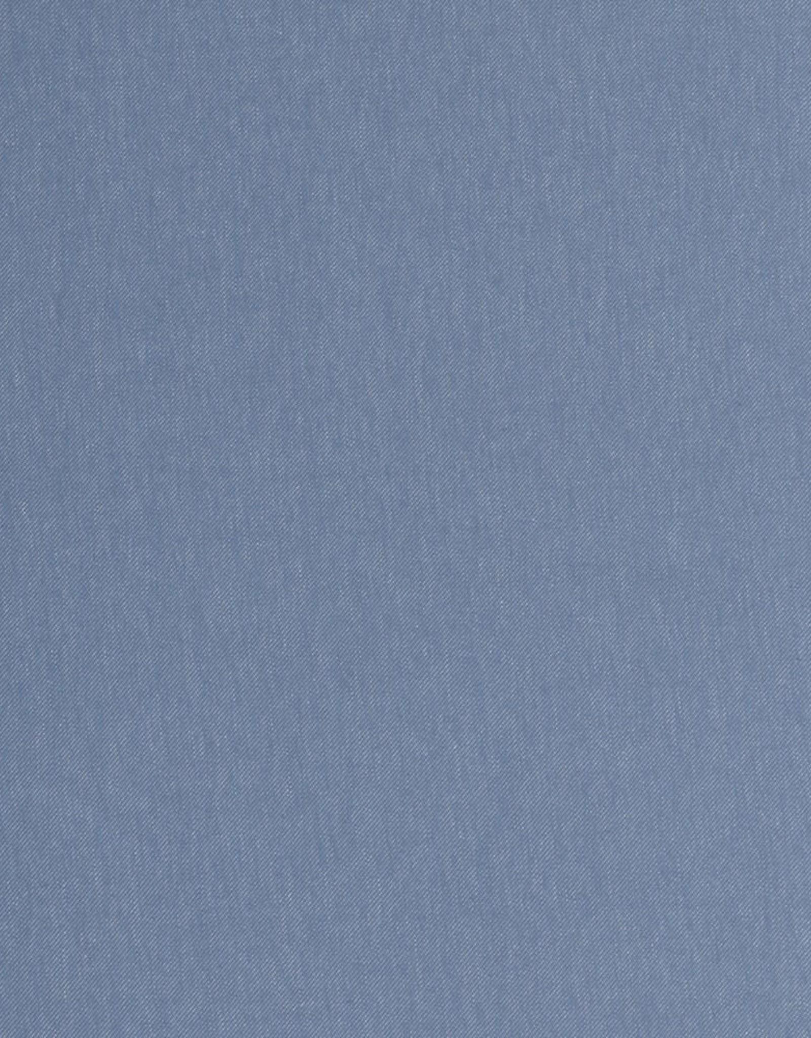 Tricot katoen jeans licht blauw grijs