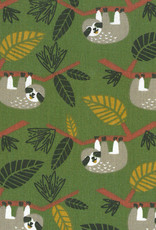 *Cotton funny jungly slots green