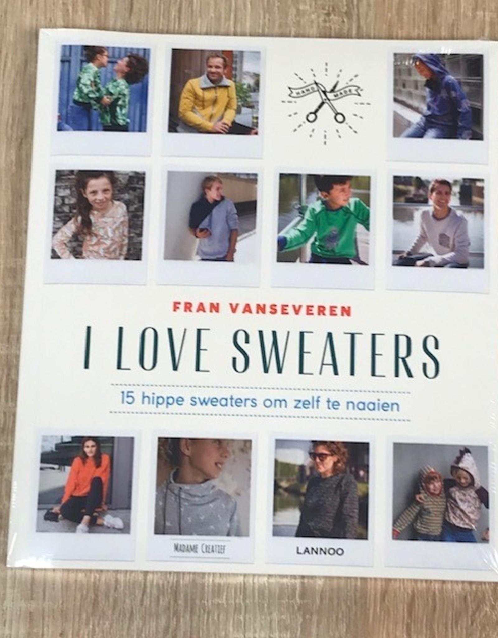 Naaiboek I love sweaters