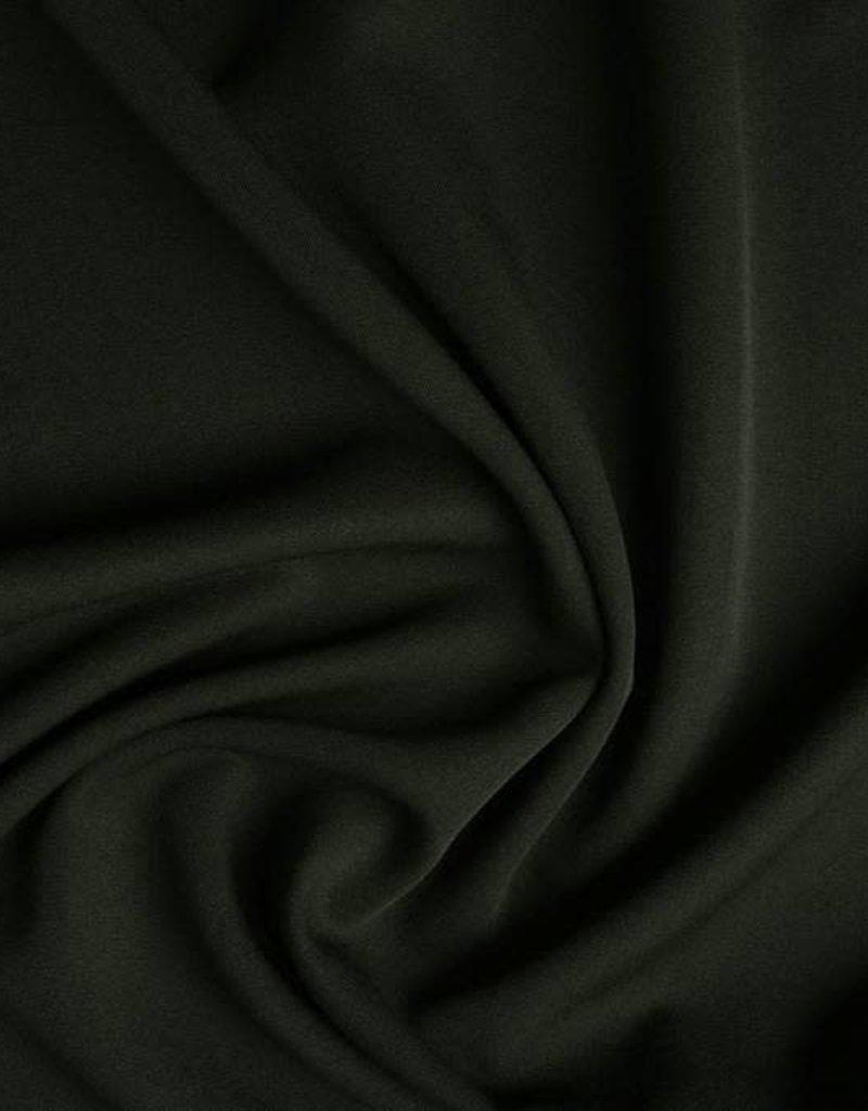 Stretch gabardine khaki