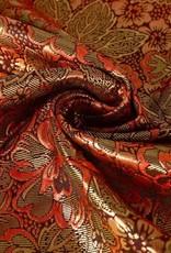 Brokaat rood goud