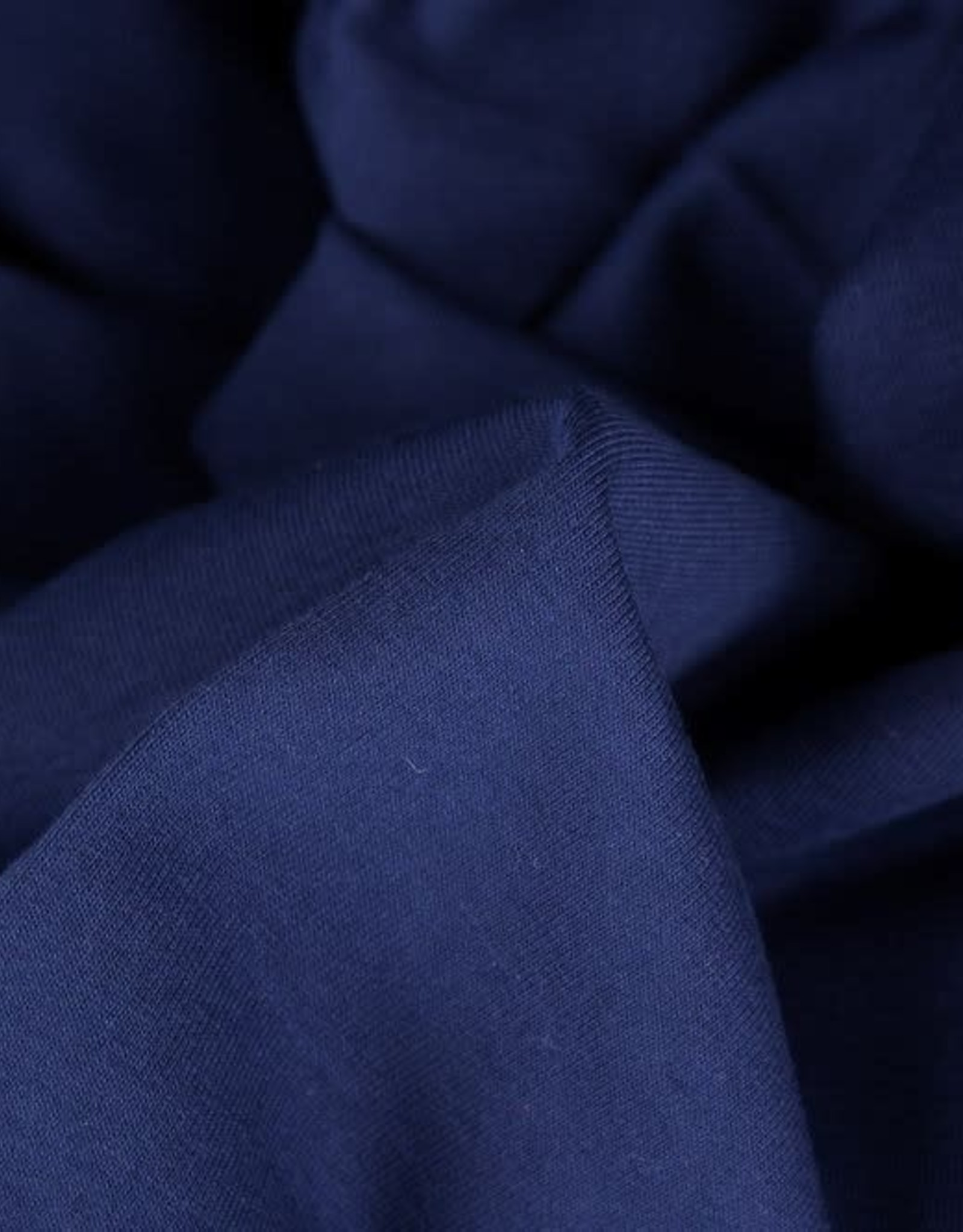 Swafing Boordstof uni donker blauw