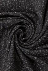 Swafing Boordstof glitter zwart zilver