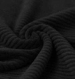 Tricot Corduroy zwart