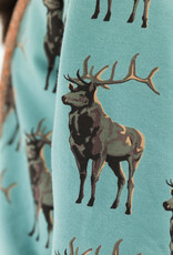 See You at Six French Terry - Deer - M - Trellis Blauw - R
